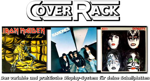 CoverRack Vinyldisplay